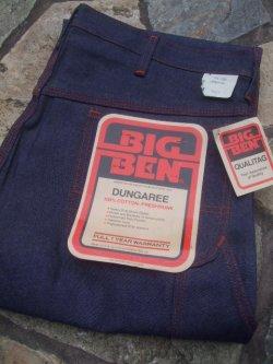 """画像1: 1960〜1970's DEAD STOCK """" ビッグベン(BIG BEN) """" ペインターパンツ"""