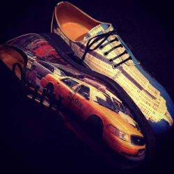 """画像1: """" GOUCHA """" Icon paint Leather shoes Style : """" NEW YORK """" M7"""