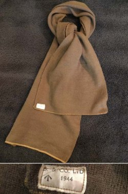 画像1: 1944's BRITISH ARMY ( SAS/LRDG ) WOOL SCARF