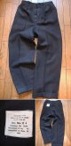 "1950's〜 DEAD STOCK "" ROYAL NAVY "" / BLUE SERGE TROUSERS"