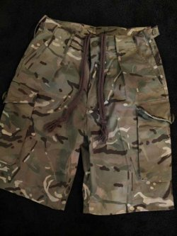 "画像1: 1990's〜 DEAD STOCK "" BRITISH ARMY "" "" SAS "" / MULTI CAMO SHORTS (2)"