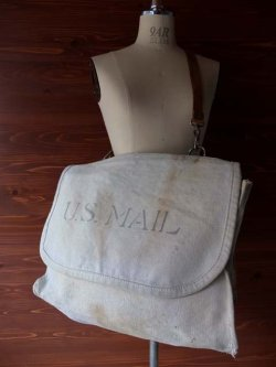 "画像1: 1940's 〜 "" U.S.MAIL BAG (WWII) "" WHT CANVAS"
