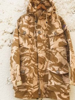 "画像1: 1990's〜 DEAD STOCK "" BRITISH ARMY "" "" SAS "" / WINDPROOF DESERT DP SMOCK (160/96)"