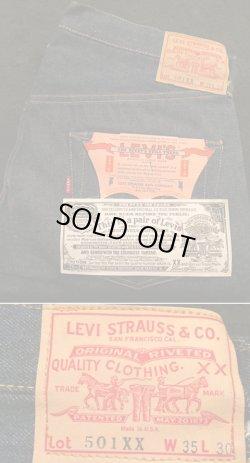 """画像1: 1963〜1964's DEAD STOCK LEVI'S ( リーバイス ) """" 501XX """" (ダブルエックス) 紙パッチモデル (ギャラなし) センターオフセット"""