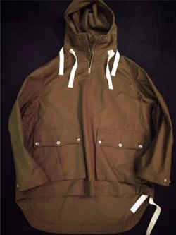 "画像1: "" GOUCHA "" VENTILE SMOCK "" NORTH WIND "" / "" YORKSHIRE MOCHA BROWN "" ( S )"