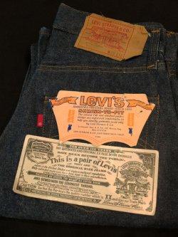 画像1: 1980's DEAD STOCK / LEVI'S(リーバイス) 501 RED LINE (66後期〜赤耳移行初期) P-5576