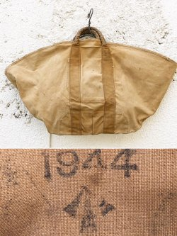 "画像1: 1944's BRITISH ARMY / BROWN CANVAS "" ENGINEER "" TOTE-BAG"