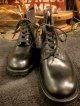 "DEAD STOCK(箱ナシ) BRITISH ARMY "" SANDERS "" / OFFICER BOOTS UK 8 (Width 6)"