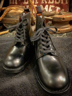 "画像1: DEAD STOCK(箱ナシ) BRITISH ARMY "" SANDERS "" / OFFICER BOOTS UK 8 (Width 7)"