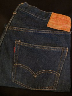 "画像1: 1960's LEVI'S(リーバイス) 502 BIG E / "" 502-0117(ZIPPER FLY) "" "" F TYPE(Fタイプ) """
