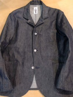 "画像1: "" GOUCHA "" DENIM WORK JKT "" / "" SPENCER J "" ( 表記2 / Mサイズ )"