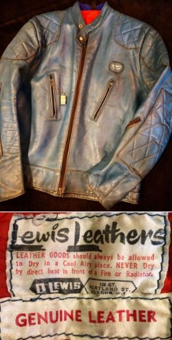 画像1: 1970's Lewis Leathers ( ルイスレザー ) / SUPER PHANTOM ( スーパーファントム )