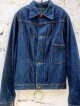 1940's UNKNOWN DENIM JK(WWII MODEL) / NO-FLAP 1PKT 4BUTTON