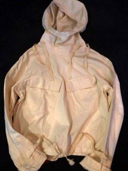 画像1: 1940's DEAD STOCK US-NAVY SALVAGE PARKA(サルベージ パーカ) SIZE S-(1)