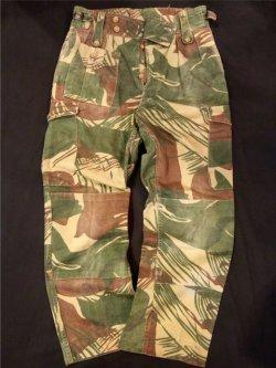 画像1: 1970's ローデシア軍 (RHODESIA MILITARY) CAMO CARGO PANTS (2)