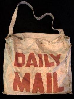 画像1: 1950's BRITISH / DAILY MAIL BAG (NEWS BOY BAG)