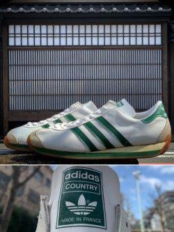 """画像1: 1970's DEAD STOCK """" adidas(アディダス) """" """" COUNTRY(カントリー) """"  / MADE IN FRANCE"""