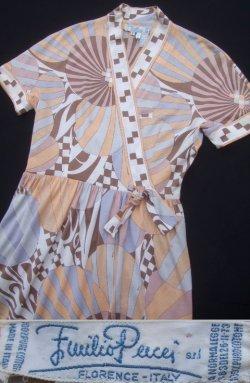 画像1: 1970's  エミリオプッチ(Emilio Pucci) ドレス  (15)