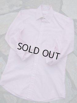 """画像1: 1980's """" イヴ・サンローラン ( Yves Saint LAURENT ) """" メンズ L/S ドレス シャツ シャーベットピンク"""