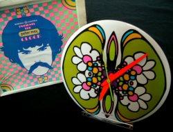 画像1: 1970'sBOX付き DEAD STOCK(デットストック)  peter max(ピーターマックス)ギャランティ(保証書)付き時計