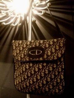"""画像1: 1970's """" クリスチャン・ディオ-ル ( Christian Dior ) """" ショルダーバッグ ( 2 )"""