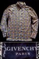 """1970's  """" ジバンシー ( GIVENCHY ) """" メンズ L/S  シャツ デザインチェック"""