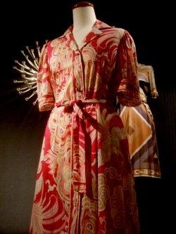 画像1: 1970's  エミリオプッチ(Emilio Pucci)  ドレス  (11)